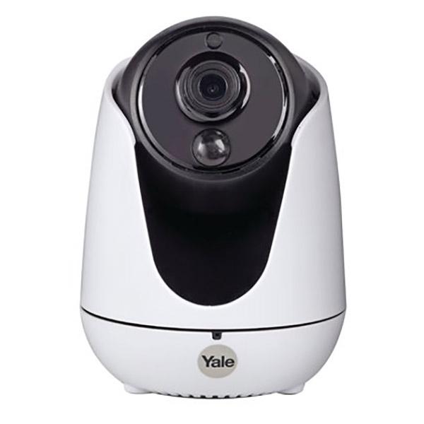 Camera IP Wireless YALE WIPC-303W, HD 720p, zi/ noapte, alb-negru