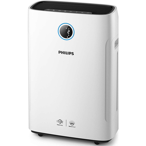 Combi 2-in-1 purificator si umidificator PHILIPS AC2729/50 Series 2000i, 4 trepte de viteza, HEPA, alb