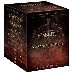 Pamantul de mijloc: Hobbit si stapanul inelelor DVD