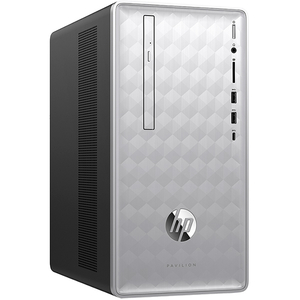 Sistem Desktop PC HP Pavilion 590-p0003nq, Intel Core i5-8400 pana la 4.0GHz, 8GB, 1TB, NVIDIA GeForce GTX 1050 2GB, Free Dos