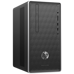 Sistem Desktop Gaming HP Pavilion 590-p0026nq, Intel Core i7-8700 pana la 4.6GHz, 8GB, 1TB, NVIDIA GeForce GTX 1060 3GB, Free Dos