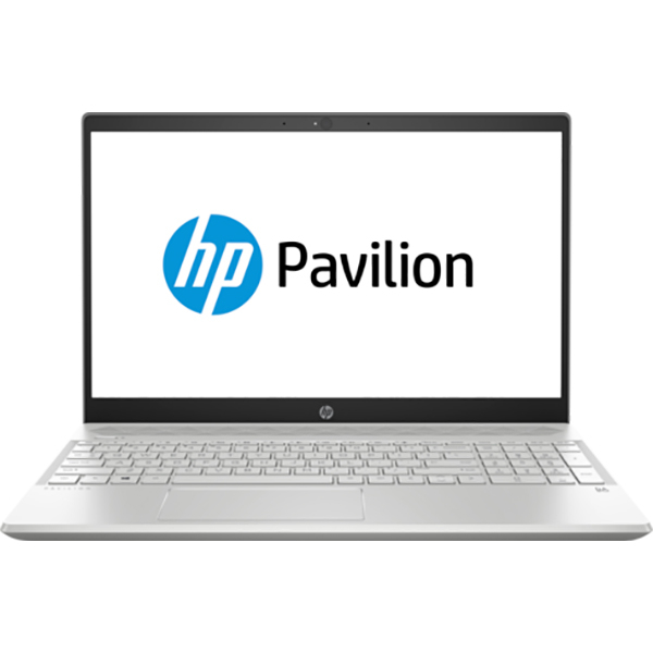 "Laptop HP Pavilion 15-cs1005nq, Intel Core i7-8565U pana la 4.6GHz, 15.6"" Full HD, 8GB, SSD 256GB, NVIDIA GeForce MX150 2GB, Free Dos, Argintiu"