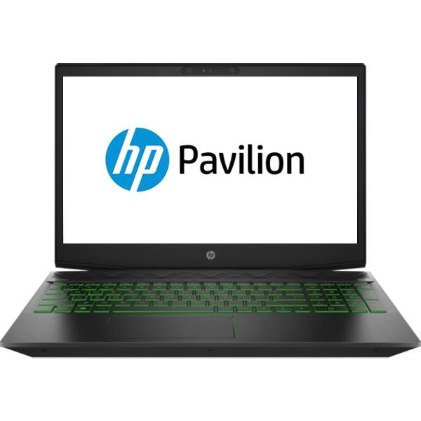 "Laptop Gaming HP Pavilion 15-cx0002nq, Intel Core i7-8750H pana la 4.1GHz, 15.6"" Full HD, 8GB, SSD 256GB, NVIDIA GeForce GTX 1050 Ti 4GB, Free Dos"