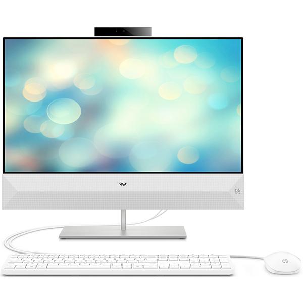 "Sistem PC All in One HP Pavilion 24-xa0002nq, 23.8"" Full HD Touch, Intel Core i5-8400T pana la 3.3GHz, 4GB, 1TB, NVIDIA GeForce GTX 1050 4GB, Free Dos"