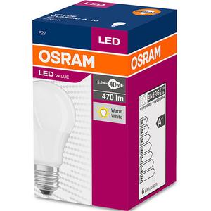 Bec Led OSRAM 4052899971028, 11.5W, E27, alb cald