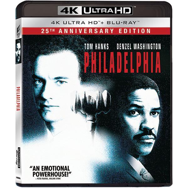 Philadelphia: 25th Editie aniversara UHD 4K + Blu-ray