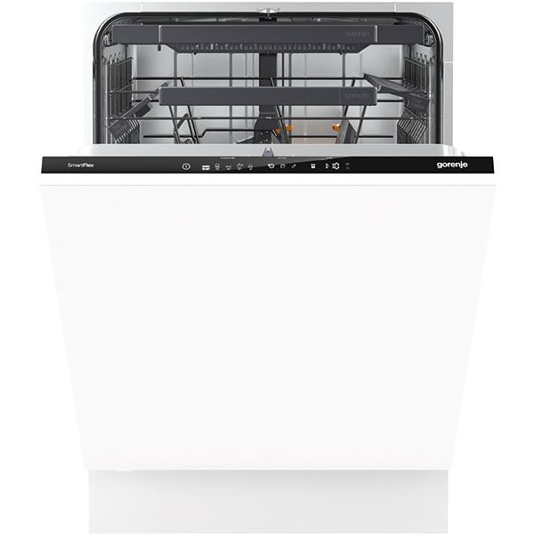 Masina de spalat vase incorporabila GORENJE GV66262, 16 seturi, 5 programe, 60 cm, clasa A+++