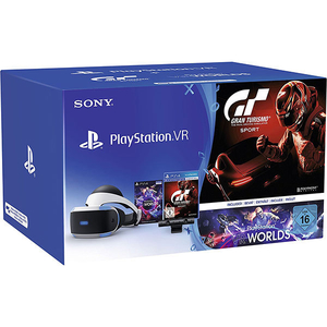 PlayStation VR + joc Gran Turismo + Camera PS + voucher VR Worlds