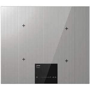 Plita incorporabila GORENJE IS634ST, inductie, 4 zone de gatit, negru cu accente argintii