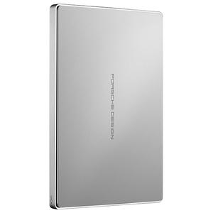 Hard Disk Drive portabil LACIE PORSCHE Design mobile STFD1000400, 1TB, USB 3.0 Type C, aluminiu
