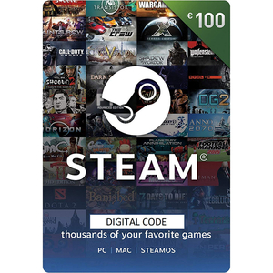 Credit electronic Steam Wallet 100 Euro