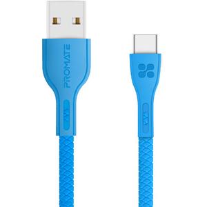 Cablu date PROMATE PowerBeam-C, Type C, 1.2m, albastru
