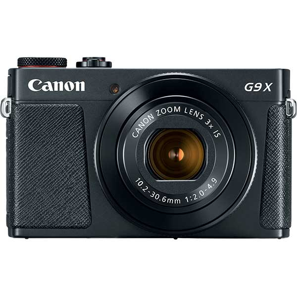 Camera foto digitala CANON Powershot G9 X Mark II, 20.9 MP, Wi-Fi, negru