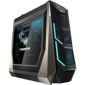 Sistem PC Gaming ACER Predator Orion 9000, Intel Core i9-7900X pana la 4.3GHz, 32GB, SSD 512GB + HDD 2TB, NVIDIA GeForce RTX 2080 Ti, Windows 10 Home
