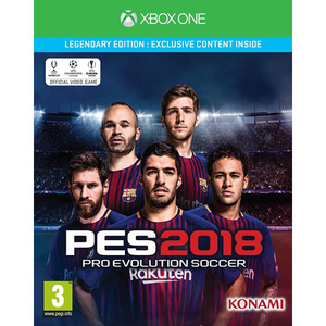 Pro Evolution Soccer 2018 (PES) Legendary Edition Xbox One