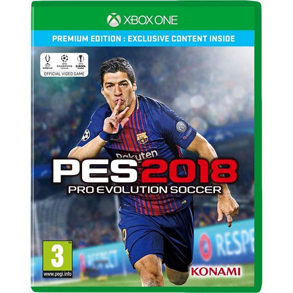 Pro Evolution Soccer 2018 (PES)  Xbox One