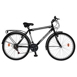 "Bicicleta de Trekking RICH SPORT R2635A, 26"", cadru otel,  negru"