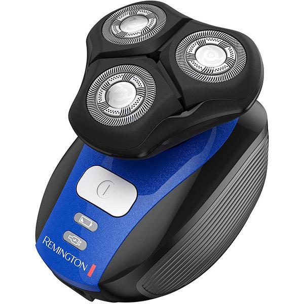 Aparat de ras REMINGTON Flex 360° XR1400, 45 min autonomie, negru-albastru