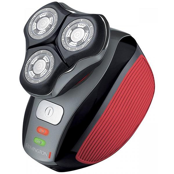 Aparat de ras REMINGTON Flex 360° XR1410, 45 min autonomie, negru-rosu