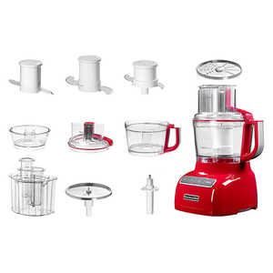 Robot de bucatarie KITCHENAID 5KFP0925EER, vas 2.1l, 240W, Empire Red