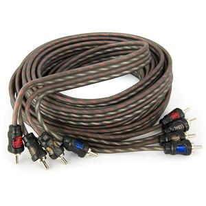 Cablu RCA AURA RCA 0450, 4 canale, 5m