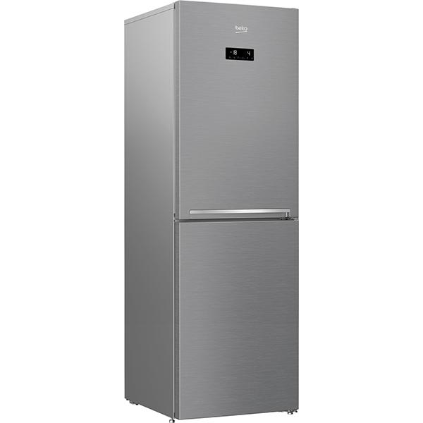 Combina frigorifica BEKO RCNA386E30ZXB, No Frost, 358 l, H 203 cm, Clasa A++, inox