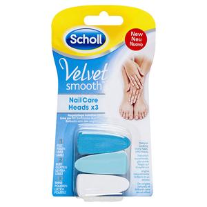 Rezerva SCHOLL Velvet Smooth Nail Care, 3 buc