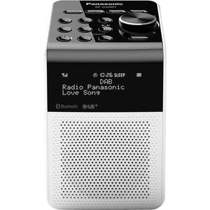 Radio portabil PANASONIC RF-D20BTEG-W, 3W, Bluetooth, IPX3, alb