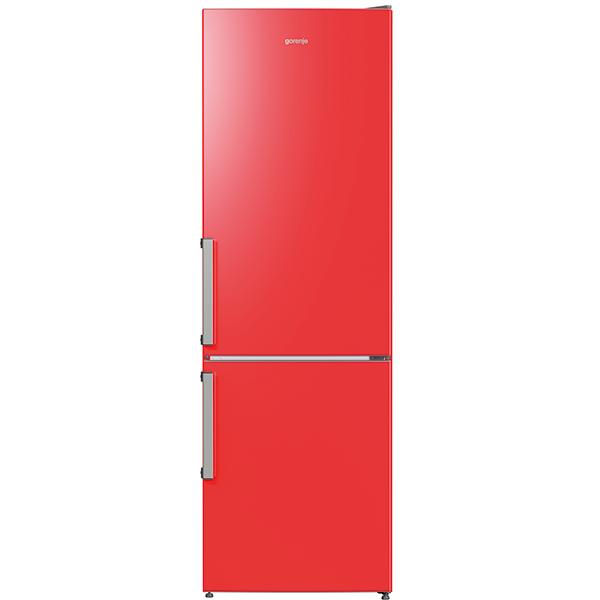 Combina frigorifica GORENJE RK6192ERD, 324 l, H 185 cm, Clasa A++, rosu