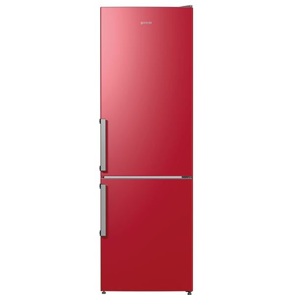 Combina frigorifica GORENJE RK6192ER, 324 l , H 185 cm, Clasa A++, bordo
