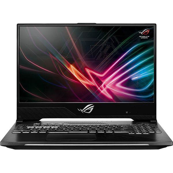 "Laptop Gaming ASUS ROG Strix Scar II GL504GW-ES006, Intel Core i7-8750H pana la 4.1GHz, 15.6"" Full HD, 16GB, SSHD 1TB + SSD 256GB, NVIDIA GeForce RTX 2070 8GB, Free Dos, Negru"