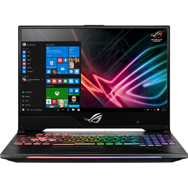 "Laptop Gaming ASUS ROG Strix Scar II GL504GM-ES164T, Intel Core i7-8750H pana la 4.1GHz, 15.6"" Full HD, 8GB, SSHD 1TB + SSD 256GB, NVIDIA GeForce GTX 1060 6GB, Windows 10 Home"