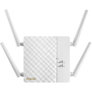 Wireless Range Extender ASUS RP-AC87 AC2600, 800+1734 Mbps, alb