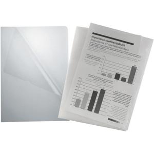 Mapa documente NOKI, A4, plastic, 100 bucati, transparent