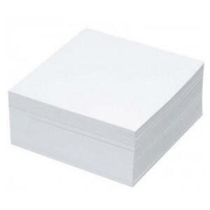 Rezerva cub hartie  RTC, 400 file, 85 x 85mm, alb