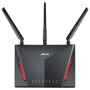 Router Wireless Gigabit ASUS RT-AC86U AC2900, Dual Band 750 + 2167 Mbps, USB 2.0, USB 3.0, negru