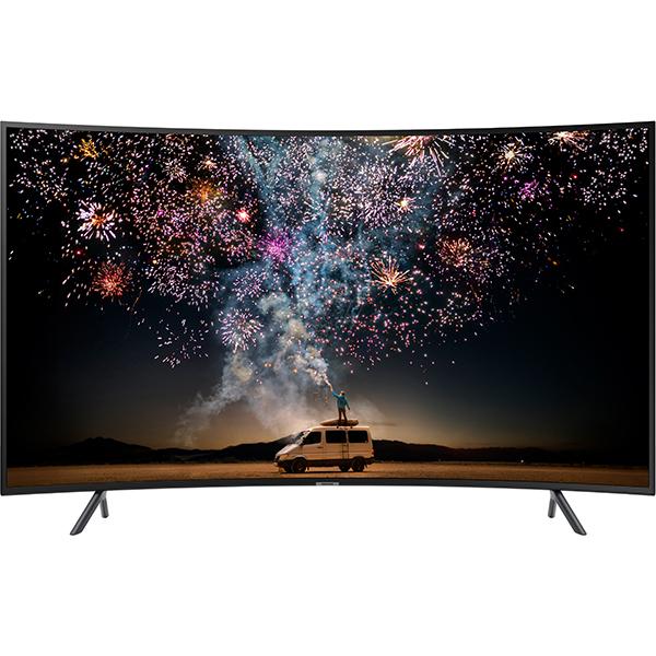 Televizor Curbat LED Smart Ultra HD, 4K HDR, 163 cm, SAMSUNG 65RU7372