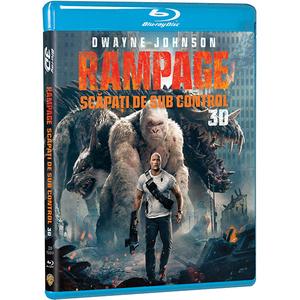 Rampage: Scapati de sub control Blu-ray 3D