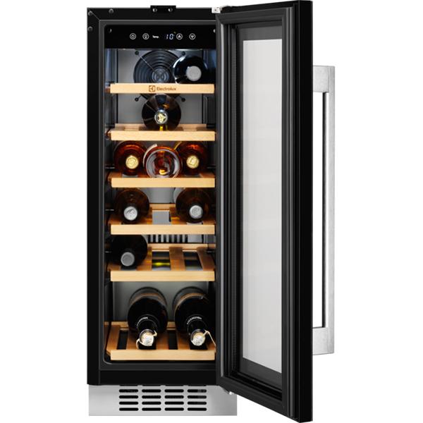 Racitor de vinuri ELECTROLUX ERW0673AOA, 56 l, 82 cm, A, negru