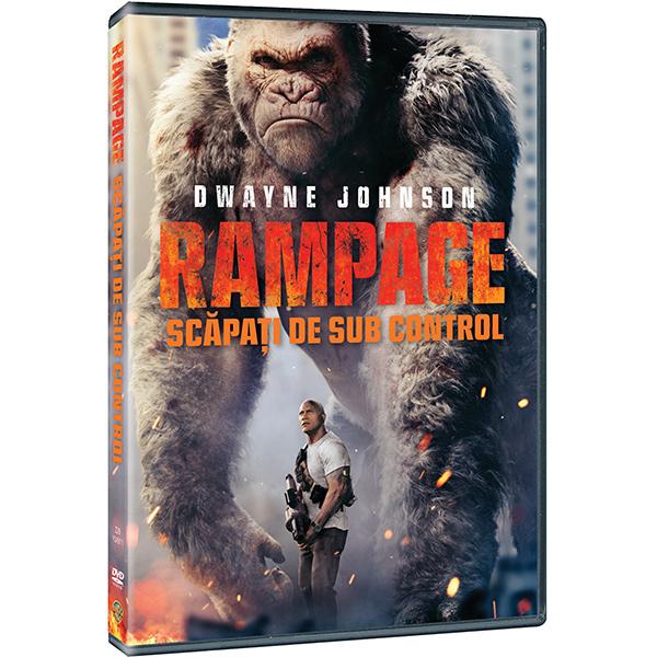 Rampage: Scapati de sub control DVD