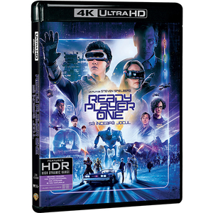 Ready Player One: Sa inceapa jocul 4K UHD