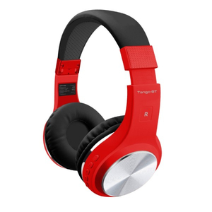 Casti PROMATE Tango-BT, Bluetooth, On-Ear, Microfon, rosu