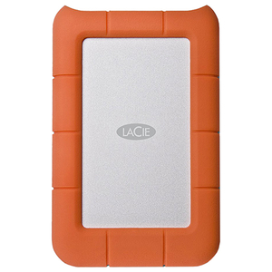 Hard Disk Drive portabil LACIE Rugged Mini LAC301558, 1TB, USB 3.0, argintiu-orange