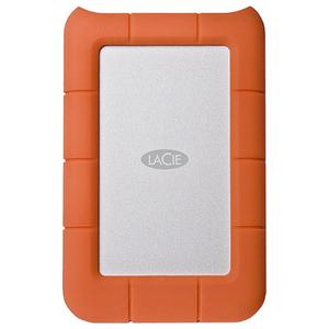 Hard Disk Drive portabil LACIE Rugged Mini LAC9000633, 4TB, USB 3.0, argintiu-orange