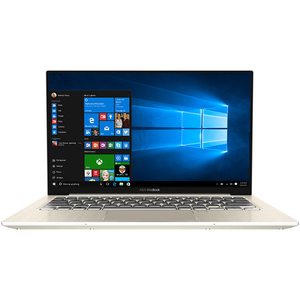 "Laptop ASUS VivoBook S13 S330UA-EY046T, Intel Core i7-8550U pana la 4.0GHz, 13.3"" Full HD, 16GB, SSD 512GB, Intel UHD Graphics 620, Windows 10 Home, Gold"
