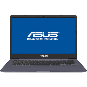 "Laptop ASUS VivoBook S406UA-BM013, Intel Core i5-8250U pana la 3.4GHz, 14.0"" Full HD, 8GB, SSD 256GB, Intel UHD Graphics 620, Endless, Star Grey"