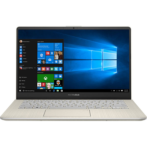 "Laptop ASUS VivoBook S14 S430FA-EB007T, Intel Core i5-8265U pana la 3.9GHz, 14"" Full HD, 8GB, SSD 256GB, Intel UHD Graphics 620, Windows 10 Home, Gold"