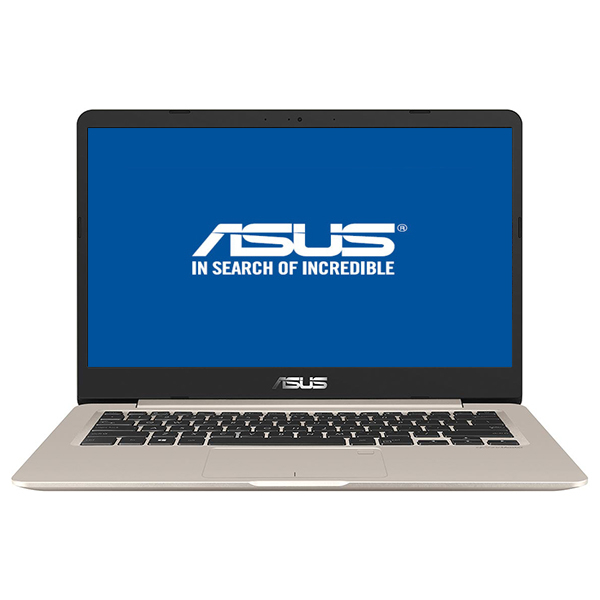 "Laptop ASUS VivoBook S406UA-BM012, Intel® Core™ i5-8250U pana la 3.4GHz, 14.0"" Full HD, 8GB, SSD 256GB, Intel UHD Graphics 620, Endless"