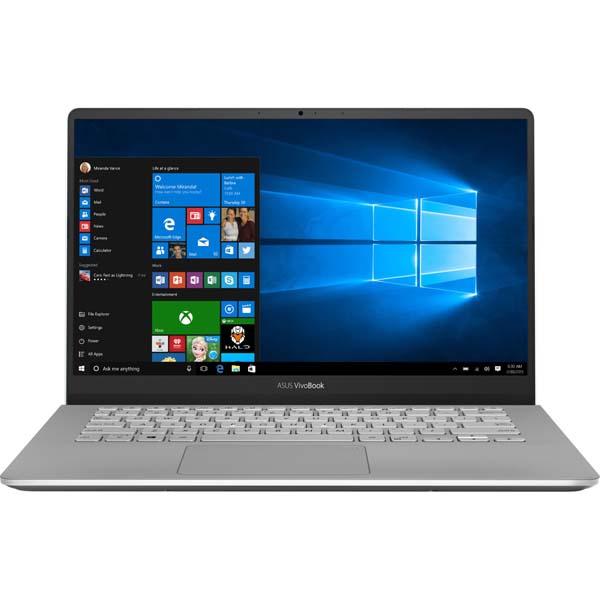 "Laptop ASUS VivoBook S14 S430FA-EB046T, Intel Core i7-8565U pana la 4.6GHz, 14"" Full HD, 16GB, SSD 512GB, Intel UHD Graphics 620, Windows 10 Home, Gun Metalic"