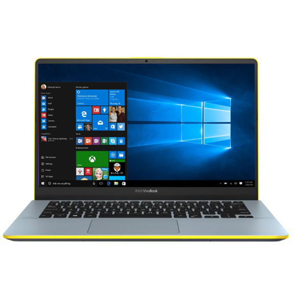 "Laptop ASUS VivoBook S14 S430FA-EB063T , Intel Core i5-8265U pana la 3.9GHz, 14"" Full HD, 8GB, SSD 256GB, Intel UHD Graphics 620, Windows 10 Home, Silver Blue"